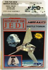 Vintage Star Wars ROTJ Boxed MPC Mirr-A-Kits Shuttle Tydirium Model Kit // MISB
