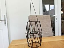 """Partylite """"Triangles"""" hanging candle holder. New. Boxed."""