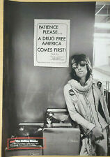 KEITH RICHARDS / ROLLING STONES - Magazine Picture / Poster - RARE