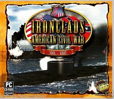 IRONCLADS AMERICAN CIVIL WAR.  14 MISSIONS. 18 HOURS OF PLAYING TIME. SHIPS FREE