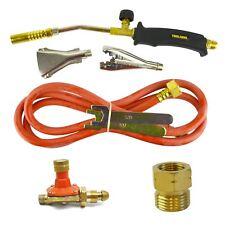 Gaz Torch Burner 2 M Pantalon Roofer Plumber Weed propane & régulateur