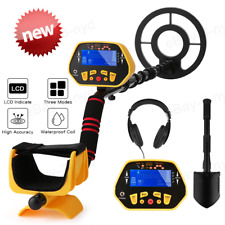 Lcd Display Metal Detector Waterproof Coil Underground Gold Hunter with Shovel-