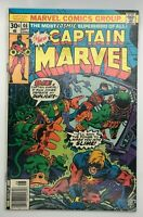 CAPTAIN MARVEL #46 MARVEL 1976 BRONZE AGE COMIC BOOK ONLY ONE CAN WIN!
