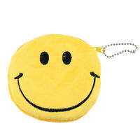 Fashion Women Lovely Lady Small Wallet Emoji Smile Purse Bag Gift Happy Gift Y4
