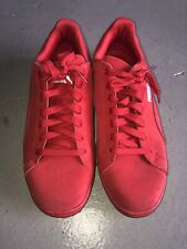 Puma Suede Classic Red Lace Up Shoes Mens Size 8.5 Excellent