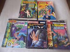 Lot de 5 bandes dessinées pour adultes: Hallucinations, névrose, Spectral, ...