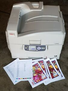 OKI C9650 PROFESSIONAL DIGITAL PRINTER NO DRUMS AND NO CARTRDGES!!! SEE PICTURES