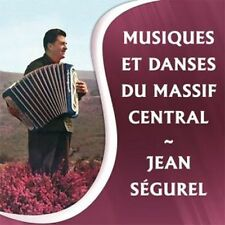CD Music and dance of the Massif Central Jean Ségurel accordion  France / IMPORT