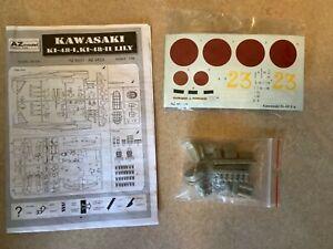 AZ Model 1/48 #AZ4833 Kawasaki Ki-48-I Sokei Type 99 Lily