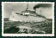 Foto Schiff Dampfer RUGARD gestempelt 1937