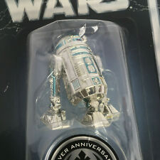 Star Wars Silver Anniversary R2-D2 Vintage Action Figure, Kenner 2002 MOC