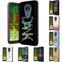Thin Gel Design Phone Case Cover for Motorola moto g7 power,TG Graphic Print