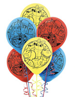 """Disney Toy Story 4 Latex Balloons Party Supplies Decorations 12"""" (6pcs)"""