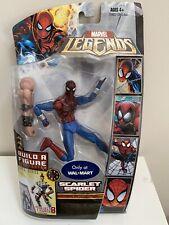 Marvel Legends Hasbro Scarlet Spider Wal Mart Ares Baf Wave Misb