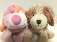 Ganz Webkinz Pink Punch Cheeky Dog and Cocker Spaniel Lot of 2 No Codes