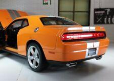Dodge Challenger 2013 SRT Coupe 1:24 Scale Diecast Model Car 24049 Orang