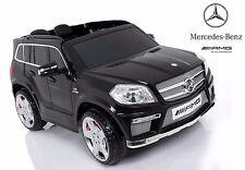 AUTO ELETTRICA 12V SUV PER BAMBINI MERCEDES BENZ GL63 AMG CON TELECOMANDO NERO