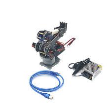ABB 6DOF Robot Alloy Mechanical Arm Rack with Servos & Arduino Board Assembled
