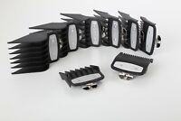 Envy For Wahl Premium Clipper Guard Set Attachment Combs Metal Magnetic 8 Piece