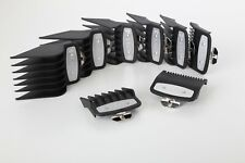 Envy For Wahl Premium Clipper Guard Set Attachment Combs Metal Magnetic 8 Piece