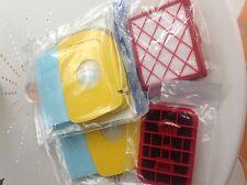 Lot  2 paquets poches Lux 1royal Lux 1 classic cassette hepa FILTRE CARBONE