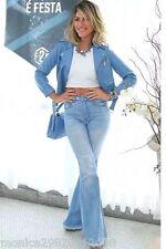 Zara Azul Chaqueta Estilo Motero Piel Sintética Talla Pequeña Nuevo