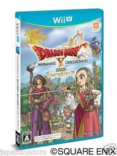 Used Wii U Dragon Quest X Ally Leads  JAPANESE  IMPORT NINTENDO