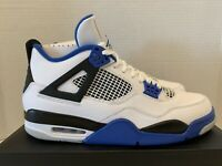 Nike Air Jordan 4 Retro IV 10.5 New DS 308497 117 Motorsports Royal Blue Eminem