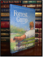 Forrest Gump ✍SIGNED✍ by WINSTON GROOM New Commemorative Hardback Gift Edition