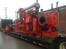 Waukesha engine F3521Gsiu, Dual fuel: nat gas/methane Ras Whispair 18X33 blower
