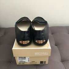 Michael Kors Daisy Loafers Leather Black US 6.5