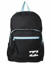NEW + TAG BILLABONG SUNDOWN BACKPACK SCHOOL GYM UNI BAG 22L WOMENS GIRLS BLACK