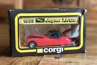 "Corgi No: 803 ""1953 Jaguar XK120"" - Red Die Cast Car"