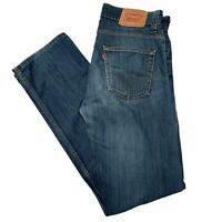 BNWT 32-54 Straight-Leg Premium Blue Washed Jeans #687 Mens Stone Touch sizes