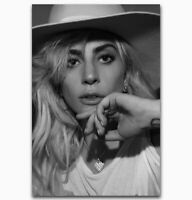 141344 Hot LADY GAGA Joann Music Singer Star Music Decor Wall Print POSTER