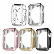 UMTELE Apple Smart Watch Case 5 Pack Series 1 & 2 38mm Protective Plated TPU