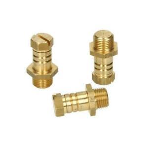"Rothenberger Brass Pressure Test Nipples Nipple 1/8"" BSP Pack of 3"