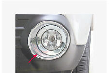 Chrome Front & Rear Fog Light Cover Trim For Subaru Forester 2009-2012