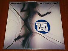JETHRO TULL UNDER WRAPS LP *RARE 1st PRESS VINYL GERMANY CHRYSALIS 1984 LTD New