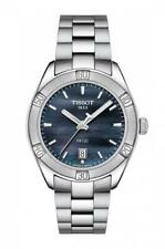 Tissot PR 100 SPORT CHIC Black Mother of Pearl Womens Watch T101.910.11.121.00