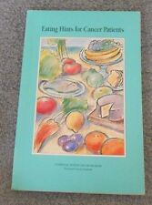 Eating Hints for Cancer Patients Book by National Institutes of Health - 1994