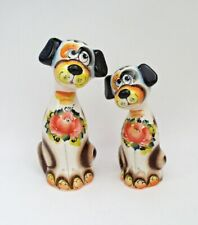DOGS - SWEET COUPLE RUSSIAN PORCELAIN FIGURINES #0214