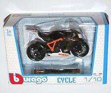 Burago - KTM 1190 RC8 R - Motorcycle Model Scale 1:18