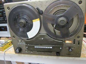 Vintage Tandberg Model 6 Stereo Tube Reel To Reel,Norway,1960s,Needs Restoration