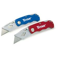 Titan 11020 Folding Pocket Utility Knife - 2 Pack