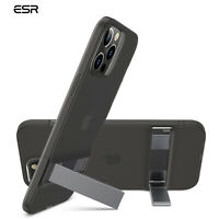 ESR Stand Case for iPhone 12 Mini Pro Max, Metal Kickstand TPU Soft Cover Clear