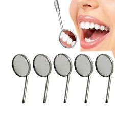 5Pcs Dental Mirror Tool Dentist for teeth Cleaning Inspection Mirror Handle