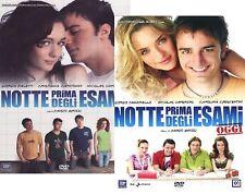 DvD NOTTE PRIMA DEGLI ESAMI 1-2 Colllection - (2 Dvd Film) ....NUOVO