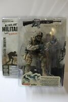 McFarlane Military Redeployed Marine Recon African American Figure FREE SHIP