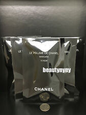 5 x Chanel Le Volume de Chanel Mascara 10 Black 1g / 0.03oz each